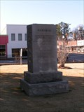 Image for Travis/Bonham Memorial - Saluda County Courthouse, Saluda, SC