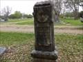 Image for Jesse Daniel Carson - Rosenberg Cemetery, Rosenberg. TX
