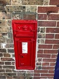 Image for Victorian Wall Post Box - Glynde, near Lewes, West Sussex, UK
