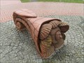 Image for Cockle Shell Bench - Cardiff Bay, Wales.