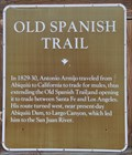 Image for Old Spanish Trail