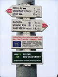 Image for Way Marker - Zbraslav, Czech Republic