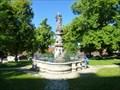 Image for La fontaine de L'abbaye-Neresheim-BW-Germany
