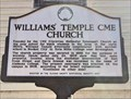 Image for Williams' Temple CME Church - Thomasville, AL