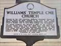 Image for Williams' Temple CME Church - Thomasville, AL