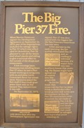 Image for The Big Pier 37 Fire