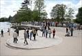 Image for Warwickshire Firefighters Memorial, Bancroft Gardens, Stratford upon Avon, Warwickshire, UK