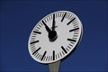 Image for Tower clock of the railway station square - Vichy - France