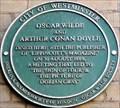 Image for Oscar Wilde & Arthur Conan Doyle - Langham Place, London, UK