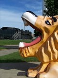 Image for Lion Water Fountain - Durand, MI