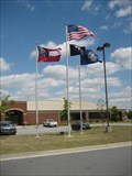 Image for Gwinnett County Flag at County Department of Water Resources Central Facility - Lawrenceville, GA