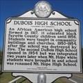 Image for Dubois High School