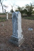 Image for FIRST -- Marked grave in Highland Cemetery, Melissa TX