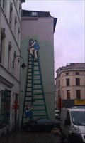 Image for Comic-walls in Brussels - La Patrouille des Castors/De Beverpatroulje