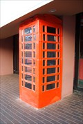 Image for Crushed Red Telephone Box - Niagara Falls, ON