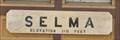 Image for Selma ~ Elevation 310 Feet