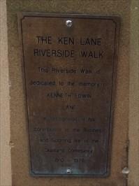 On the Ken Lane Riverside Walk, Maitland