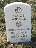 Image for 1SGT Jacob Widmer USA - FT. Leavenworth National Cemetery, Leavenworth KS