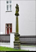 Image for Marian column / Mariánský sloup - Chomutovská street N° 116 - Klášterec nad Ohrí (North-West Bohemia)