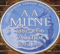 Image for A A Milne - Mallord Street, London, UK