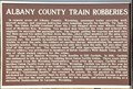 Image for Albany County Train Robberies