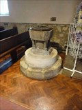 Image for Stone Font, St John the Baptist, Crawley, West Sussex, England