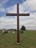 Image for Trinity First Lutheran Cemetery Cross - Stuttgart, KS
