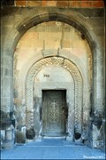 Image for Door and Portal of Surb Astvatsatsin Church - Khor Virap Monastery (Ararat province - Armenia)