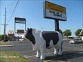 Image for Fiberglass Cattle at Bonanza Steakhouse - Lincoln, IL