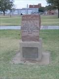 Image for Dodge City Santa Fe Trail Marker - Dodge City, Kansas