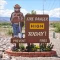 Image for Smokey at Beaver Dam/Littlefield Firestation Number 1 ~ Beaver Dam, Arizona