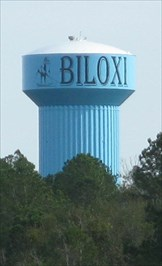City Water Tower Biloxi Mississippi Water Towers On