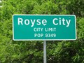 Image for Royse City, TX - Population 9349