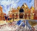 Image for Saint Mark's Basilica by Renoir - Venecia, Italy
