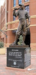 """Image for """"The Player """" honoring Branch Rickey - Denver, CO"""