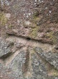 Image for Cut Mark, Pillar, Park Terrace, Chester, Cheshire, England, UK