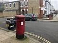 Image for Victorian Pillar Post Box - Fulham, London, UK