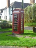 Image for Red Telephone Box, Clifton-upon-Teme, Worcestershire, England