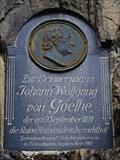 Image for 3047 Goethe & Johann Wolfgang von Goethe, Hasištejn Castle, Czechia