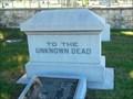Image for Unknown Dead - San Antonio National Cemetery - San Antonio, Tx.
