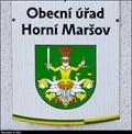 Image for Znak Horního Maršova na Obecním úradu / Coat of arms of Horní Maršov on the Municipal Office - Horní Maršov (North-East Bohemia)