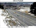 Image for US2 at East Farwell Road Webcam - Spokane, WA