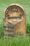 Image for Milestone - York Road, Bickerton, Yorkshire, UK.