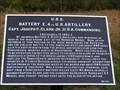 Image for Battery E, 4th U.S. Artillery No 107 - Sharpsburg MD