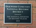 Image for Oakwood Cemetery National Historic District - Fort Worth, Texas