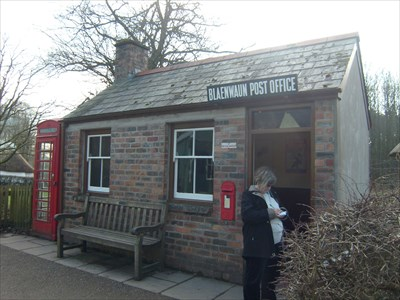 Blaenwaun Post Office - delivered to - Welsh Folk Museum.