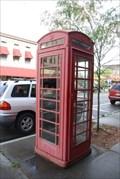 Image for Watkins Glen Red Telephone Box - Watkins Glen, NY