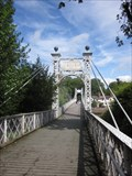 Image for Queen's Park Suspension Bridge, Chester, Cheshire, England, UK