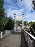 Image for Queen's Park Suspension Bridge, Chester, Cheshire, England, UK
