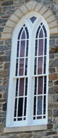 Image for Front Stained Glass Window-Bosley Methodist Church - Sparks MD